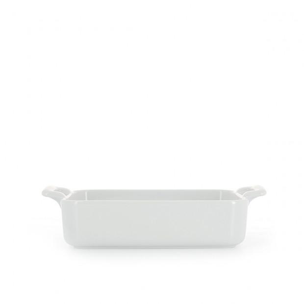Rectangular porcelain dish
