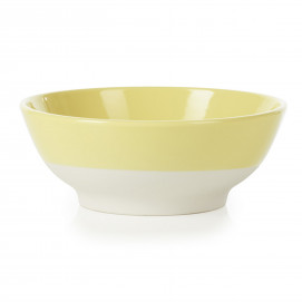 small coloured porcelain cereal bowl - Citrus Yellow