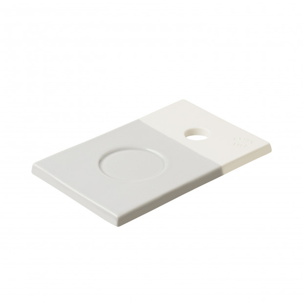 Small coloured porcelain tray - Stratus Grey