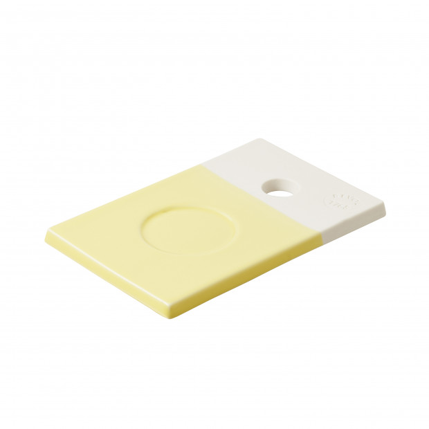 Small coloured porcelain tray - Citrus Yellow