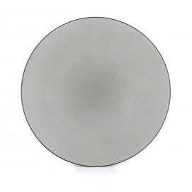 Flat ceramic plate - Pepper
