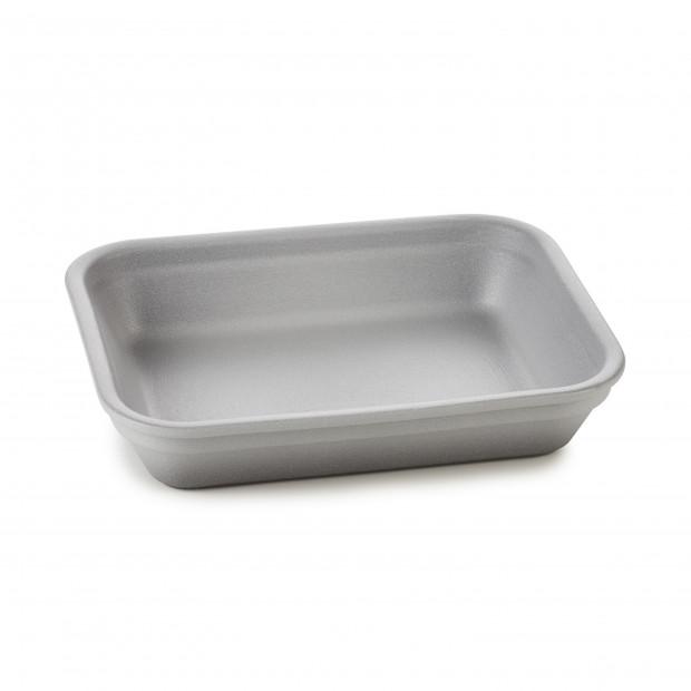 Rectangular dish in porcelain - Pepper