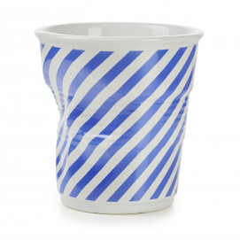 Crumpled Berlingot porcelain utensil pot