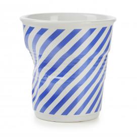 Crumpled Berlingot porcelain utensil pot