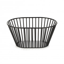 High oval bread basket