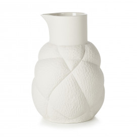 75 cl porcelain jug - White