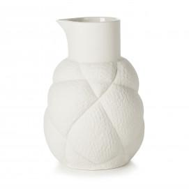 75 cl porcelain jug - White
