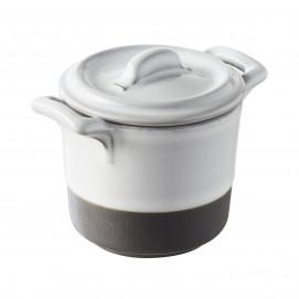 faitout avec couvercle en porcelaine - belle cuisine eclipse