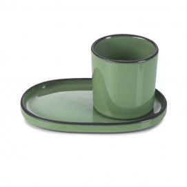 ceramic cup Caractère Mint