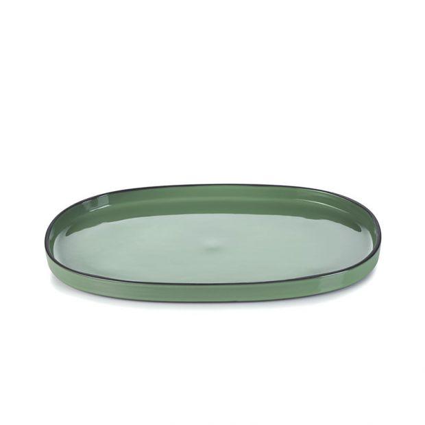 Caractère service plate Mint