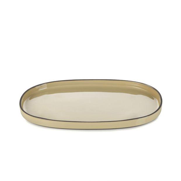 Caractère service plate Nutmeg