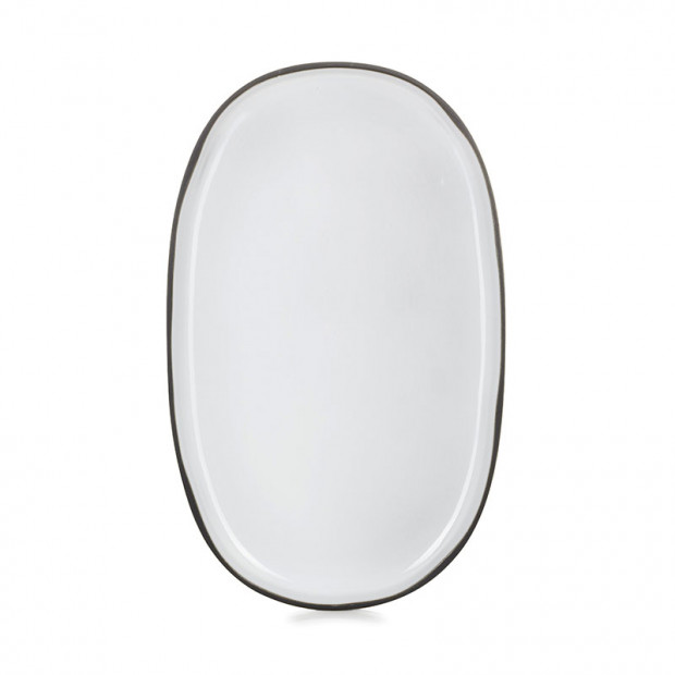 CARACTERE OVAL PLATE