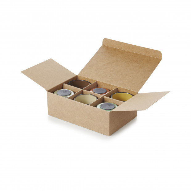 CARACTERE GIFTBOXED CUP 8CL, X6